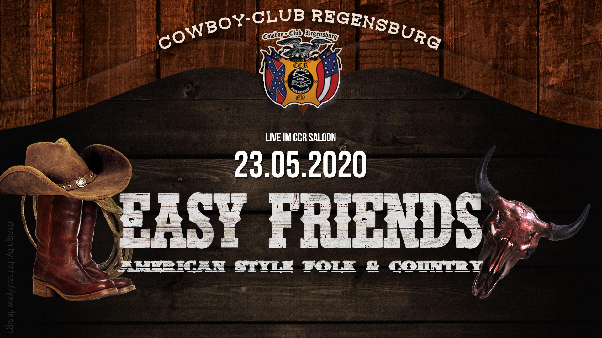Easy Friends - Live im CCR Saloon